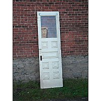 Antique Chestnut Exterior Door
