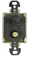 Antique H & H 4-Way Push Button Switch - New Old Stock - Circa 1915