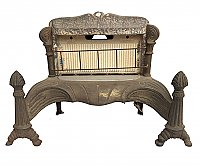 Antique GCP Co. Gas Fireplace Insert No. 314
