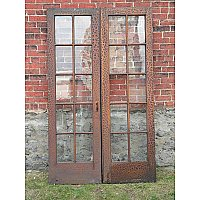 Antique Pine French Doors