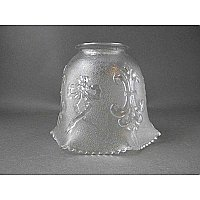 "Antique Prismatic Glass Shade - 2-1/4"" Fitter"