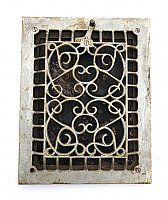 Antique Wall Grate