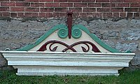 Antique Colonial Revival Pediment, C. 1900