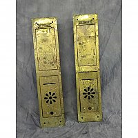 Antique Brass Mailbox