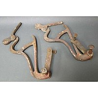 Antique Ladder Brackets