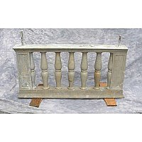Set of Antique Marble Railing, 22 LF