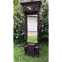 Antique Eastlake Hall Stand