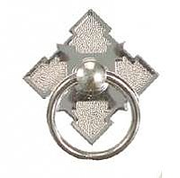 Eastlake Ring Pull, Polished Nickel