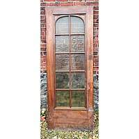 Antique Gumwood Swinging Door