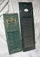 Antique Miscellaneous Decorative Shutters