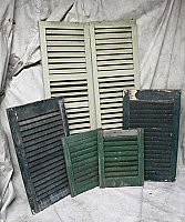 Antique Miscellaneous Exterior Shutters