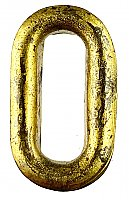 Antique Wrought Brass Keyhole Insert - Circa 1890