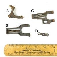 Yale & Towne Antique Mortise Lock Parts - Miscellaneous Parts