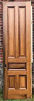 Antique Pine Pocket Door