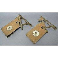Antique Pair of Pocket Door Rollers