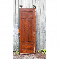 Antique Chestnut Pocket Door
