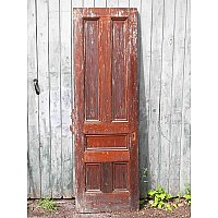 Antique Five Panel Pocket or Sliding Door