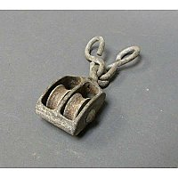 Antique Double Pulley