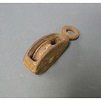 Antique Single Pulley