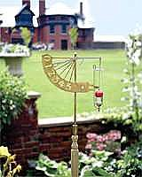The Jeffersonian Rain Gauge, Brass