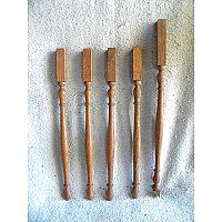 Antique Oak Stair Spindles