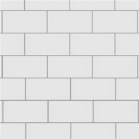 "Crown Heights Glossy White 3"" x 6"" Subway Tile - Sold Per Case of 44 Tile - 6.03 Square Feet"