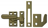 Small Solid Brass Casement Window Latch