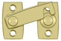 Solid Brass Window Shutter Bar or Latch