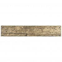 "Battiscopa Cottage Brown 3-1/8"" x 17-5/8"" Ceramic Wall Bullnose Trim Tile - Sold Per Tile - 0.38 Square Feet"