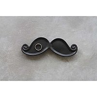 Decorative Ceramic Mustache Plate