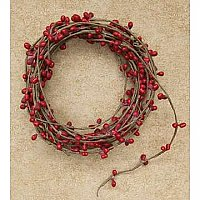 Pip Berry Single Garland - Red