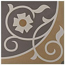 "Caprice Loire 7-7/8"" x 7-7/8"" Porcelain Tile - Beige/Cream - Per Case of 25 - 11.46 Square Feet"