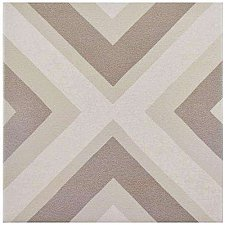 "Caprice Pastel Square 7-7/8"" x 7-7/8"" Porcelain Tile - Beige/Cream- Per Case of 25 - 11.46 Square Feet"