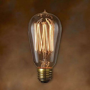 Nostalgic Bulb - Thread Filament - 40 Watt - ST18