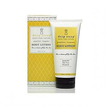 Deep Steep 6 oz Lotion - Grapefruit Bergamot
