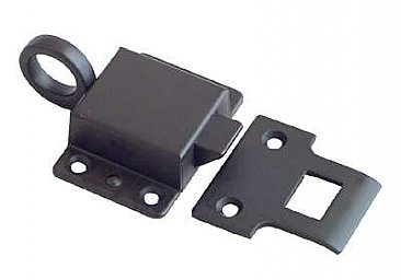Transom Latch and Strike, 5 Finishes Available