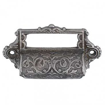 Iron Bin or Drawer Pull