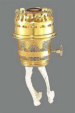 Brass Model 23 Kerosene Aladdin® Brand Oil Lamp Burner