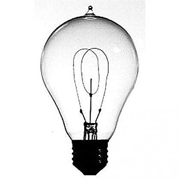 1893's Replica Light Bulb