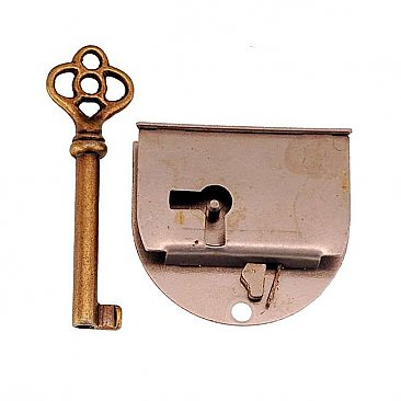 Half Mortise Drawer Lock, Right hand