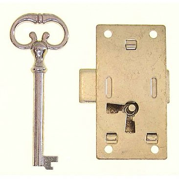 Non-Mortise (Surface) Lock for Wardrobes and Cabinets