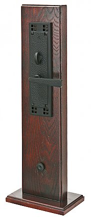 Emtek Craftsman Brass Mortise Entry Door Hardware Set