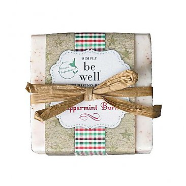 Simply Be Well Handcrafted Bar Soap - Peppermint Bark