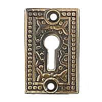 Rice Keyhole Cover, Antique Copper