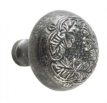 Lorraine Large Cabinet Knob, Antique Nickel
