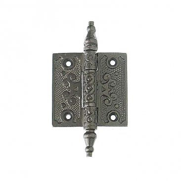 Cast Iron Cabinet Hinge Pair, 2""