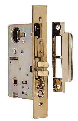"Exterior Mortise Lock Case - 2-3/4"" Backset"