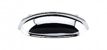 "Somerset Cup or Bin Pull - 3"" on Center - Polished Chrome"