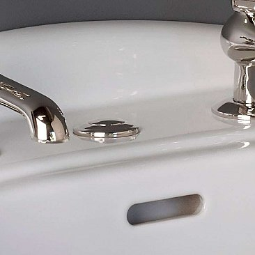 Solid Brass Sink Hole Cover - Multiple Finishes Available