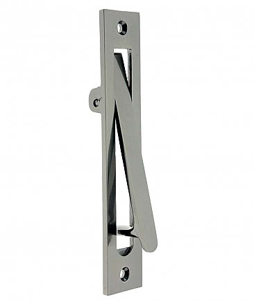 "6-1/4"" Pocket Door Edge Pull, Many finishes available"